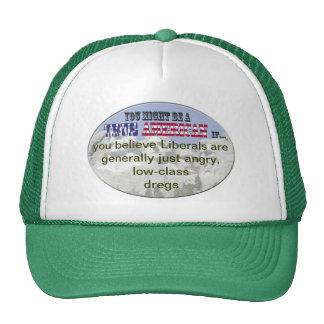 liberals low class dregs trucker hat