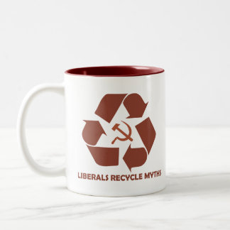 Liberals Recycle Myths Mug