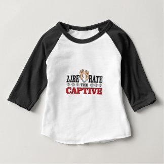 liberate the captive art baby T-Shirt
