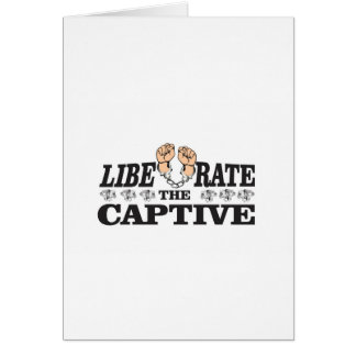 liberate the inslaved card
