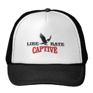 liberate the slaves bird trucker hat