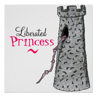 LIBERATED PRINCESS print