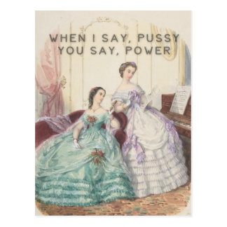 Liberated Woman's Songbook Postcard