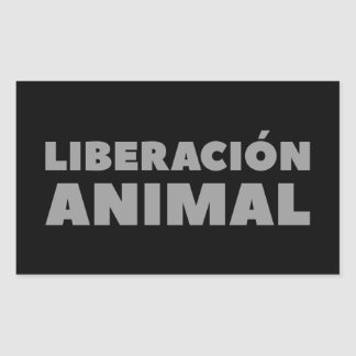 LIBERATION ANIMAL STICKER
