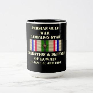 Libération et défense de campagne du Kowéit Mug Bicolore