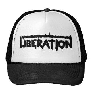 Liberation Splatter (Black) Trucker Hat