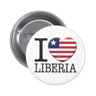Liberia 2 Inch Round Button
