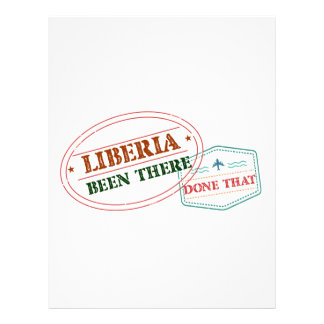 Liberia Been There Done That Letterhead
