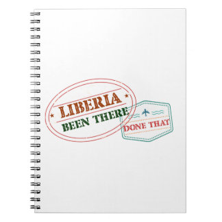 Liberia Been There Done That Notebook