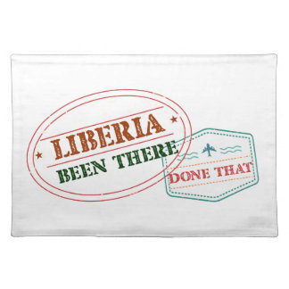 Liberia Been There Done That Placemat