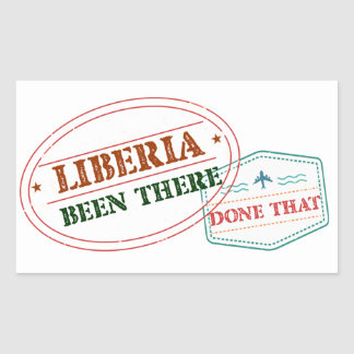 Liberia Been There Done That Sticker