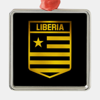 Liberia Emblem Metal Ornament