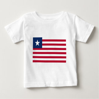 Liberia flag baby T-Shirt