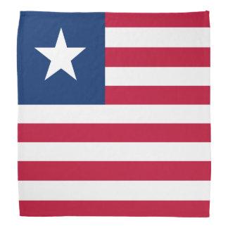 Liberia Flag Bandana