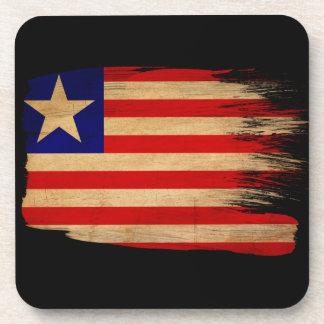 Liberia Flag Coasters