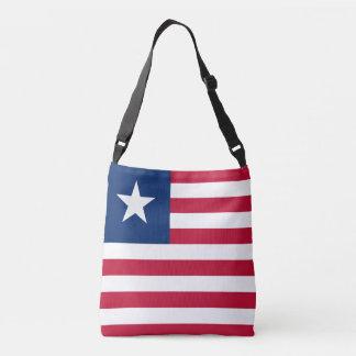 Liberia Flag Crossbody Bag