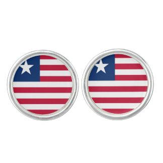 Liberia Flag Cufflinks