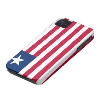 Liberia Flag iPhone Case
