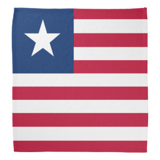 Liberia Flag Kerchiefs