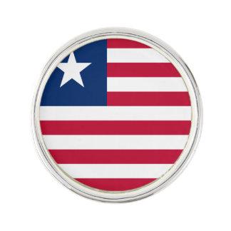 Liberia Flag Lapel Pin