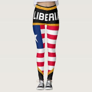 Liberia Flag Leggings