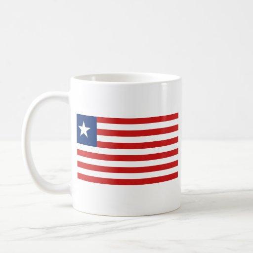 Liberia Flag ~ Map Mug