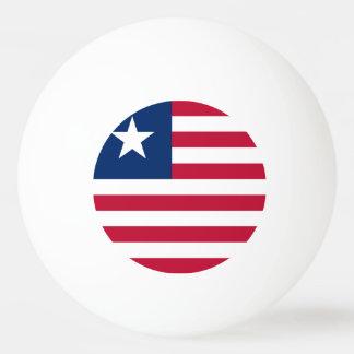 Liberia Flag Ping-Pong Ball