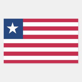 Liberia* Flag Sticker