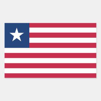 Liberia Flag Sticker