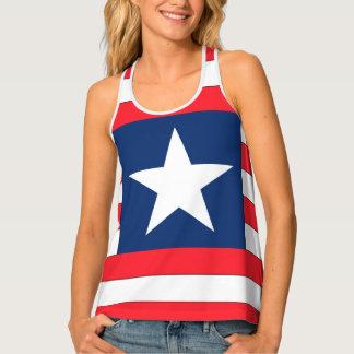 Liberia Flag Tank Top