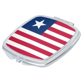 Liberia Flag Vanity Mirror