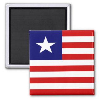 Liberia High quality Flag Magnet