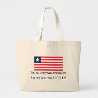 Liberia Jumbo Tote Bag