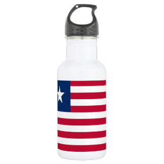 Liberia National World Flag 532 Ml Water Bottle