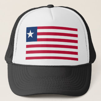 Liberia National World Flag Trucker Hat