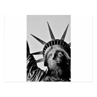 Libert lady postcard