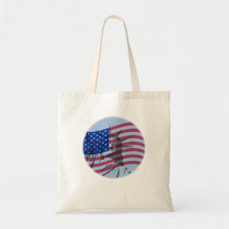 LIBERT OVER FLAG TOTE BAG