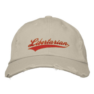 Libertarian Embroidered Hat