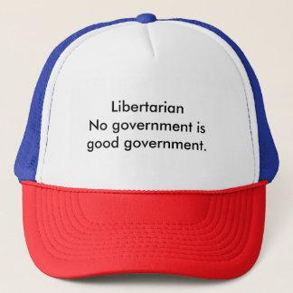 Libertarian government trucker hat