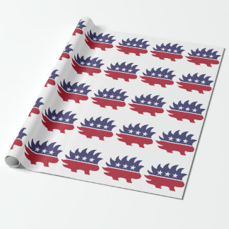 Libertarian Party Logo Wrapping Paper
