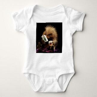 Libertarian Porcupine Mascot Civil Disobedience Baby Bodysuit