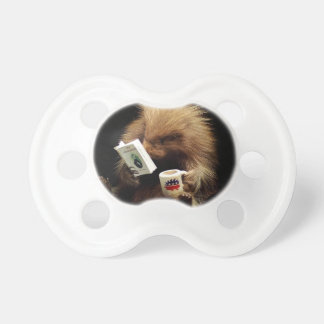 Libertarian Porcupine Mascot Civil Disobedience Baby Pacifiers