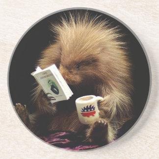 Libertarian Porcupine Mascot Civil Disobedience Coaster
