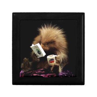 Libertarian Porcupine Mascot Civil Disobedience Gift Box