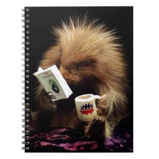Libertarian Porcupine Mascot Civil Disobedience Notebooks