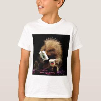 Libertarian Porcupine Mascot Civil Disobedience T-Shirt