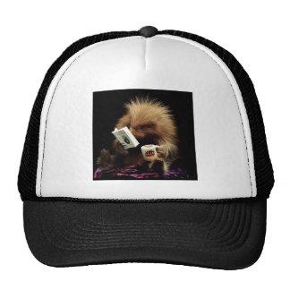 Libertarian Porcupine Mascot Civil Disobedience Trucker Hat