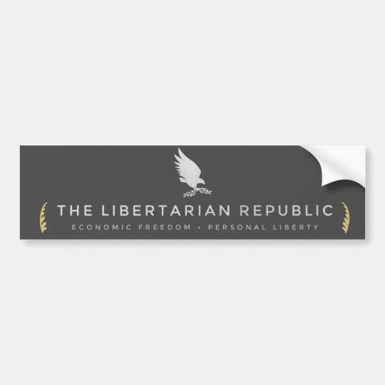 Libertarian Republic Bumper Sticker
