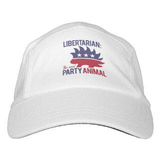 Libertarian - The Real Party Animal - -  Headsweats Hat