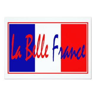 Liberté, Egalité, Fraternité - French Theme Event Card